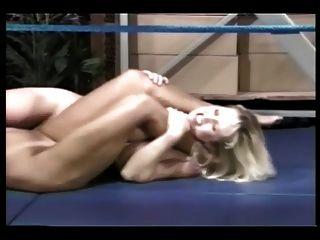 luta livre no ringue