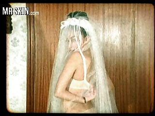 noivas de celebridades, rasgam seus vestidos e foda seus maridos!