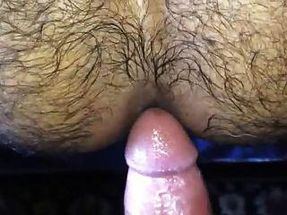 Follando e inseminando um culo peludo quente