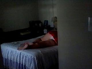 espiando a minha mulher enquanto duerme