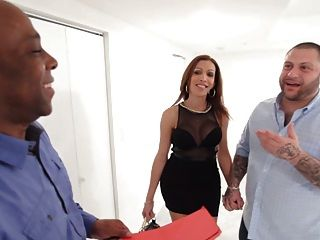 Cena de cuckold interracial com sexy cindy ramirez