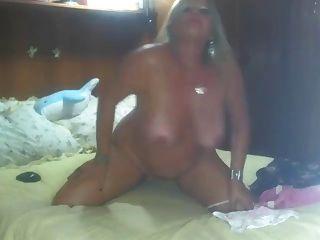 Jogo maduro na webcam