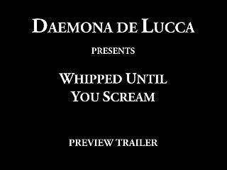 chicoteado até você gritar (trailer)