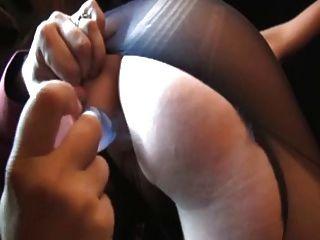 Paula, francês maduro fodido em calça rasgada