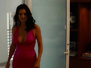 Courtney Cox Big Tits em um lindo vestido