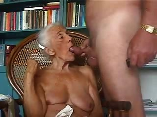 velha avó adora sugar o galo jovem