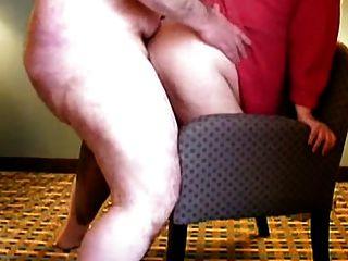 casal de gordos a fazerem sexo! um par de chubs fazendo sexo!