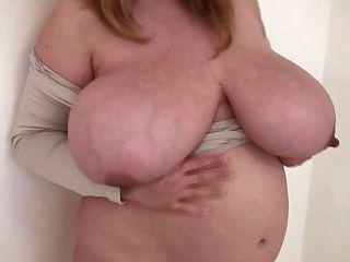 bbw dança grávida