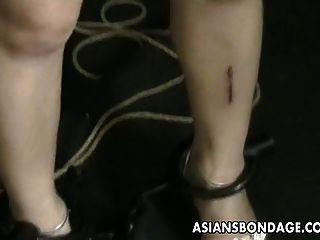 Adolescente asiático é tateado e empurrado por seu mestre nerd