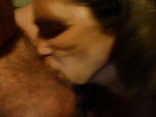 sugando meu marido galo com cum na minha boca