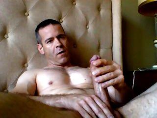 str8 daddy morning wank and cum