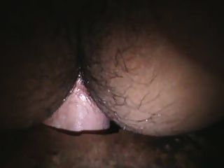 Shemale Shemale fodida por um galo branco em gloryhole
