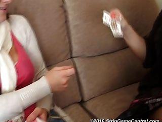 demi \u0026 michelle play strip highcard.