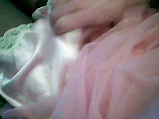 cummin em cetim rosa