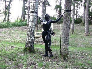 Reboque de madeira sueco