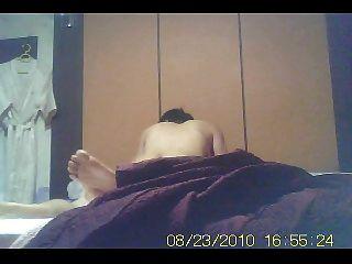 casado asiático coreano fazendo o amante dele no hotel