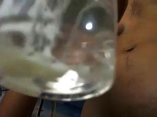 gozada especial bebendo leite