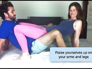 posições sexuais com um treinador sexual