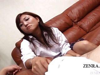 subtitulado cfnm bronze japonês schoolgirl senzuri femdom