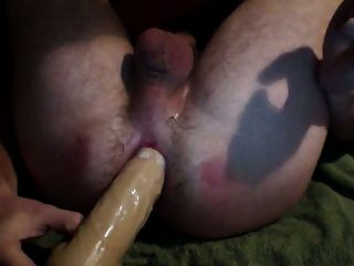 Sissy Hard Dildo Anal fucking e gaping