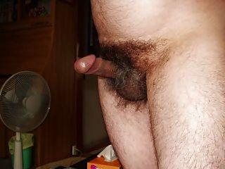 Jovem japonês, homem ereto, apresentação de pênis