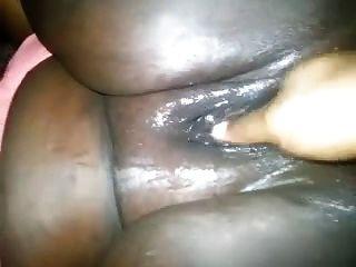 dedilhado de peluches pretos gordos