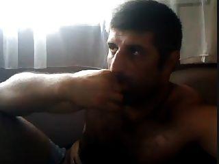 Masturbando Turco Turco Urso Natural Volkan Introdução 1