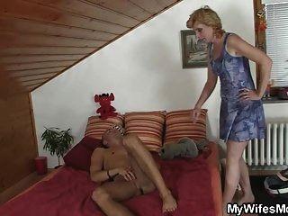 sogra vem ajudá-lo a cum