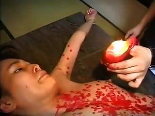 torturando um ol japonês com sparklers