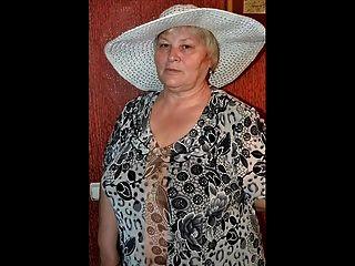 Granny vestido despido! animação!