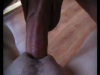 grande dick fodendo um pussy apertado em ação close up