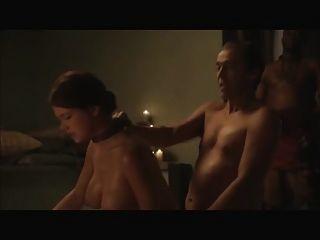 compilação de cenas eróticas de spartacus e areia