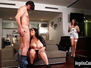 trio pornô nativo cubano com angelina castro