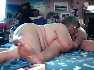 vovô e vovô jogam na cam