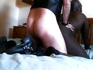 skinhead white master dp cria black slave
