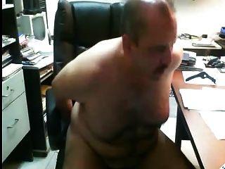 Papai se diverte no escritório