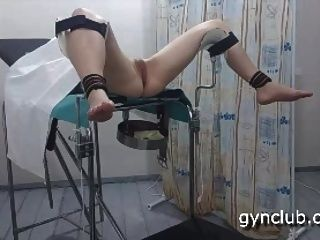 Orgasmo na cadeira ginecológica