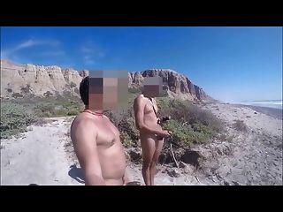 bronha com primo hetero na praia parte 2