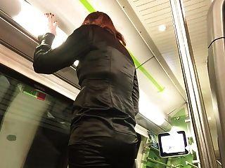 ejaculação doce no trem