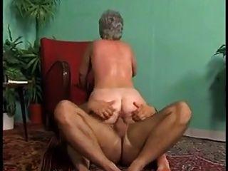 bbw anal granny com cabelos grisalhos (vintage)