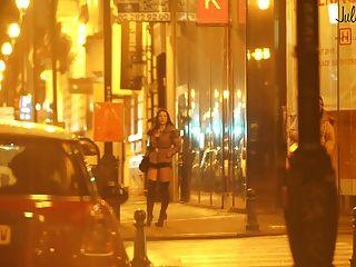 Prostituta real na rua pute dans la rue
