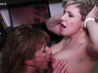dois bichos lésbicas e bichos peludos