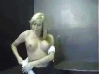 Diversão shemale vintage em uma prisão
