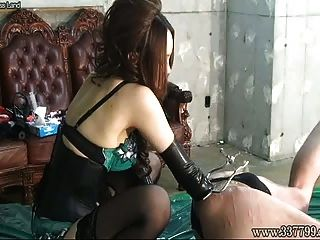 Dildo anal japonês dominatrix
