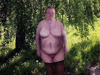 velha avó mais de 70 anos, vestida despida! calcinhas sexy! animação!