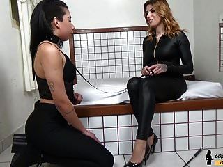 treinador escrava atropelar pé dominação amante ruiva