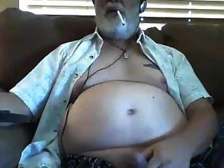 avô acidente vascular cerebral na webcam