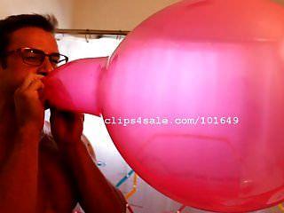 balão fetiche lança estalo balões de vídeo 1