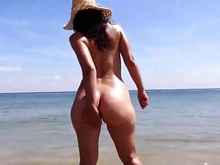 vagando na praia saf