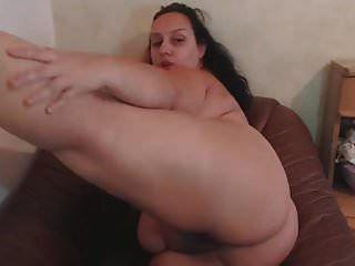 bbw extremamente peituda madura se masturba